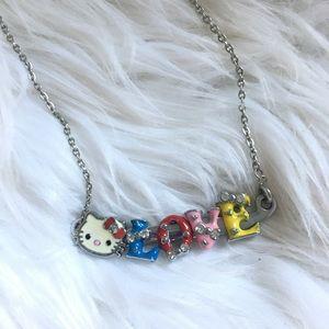 "💖Hello Kitty ""LOVE"" necklace!💖"